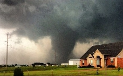 Moore, Oklahoma -- May 20, 2013 -- photo by Marshall Brozek via KFOR