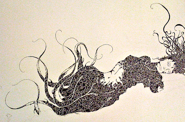 """""""Sea Creature"""" by Courtney Cantrell"""