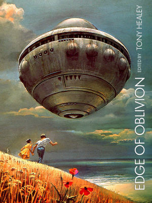 EDGE OF OBLIVION cover art by Bruce Pennington and Keri Knutson.